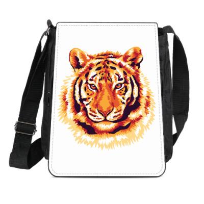 Сумка-планшет Тигр