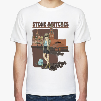 Футболка Stone and bitches