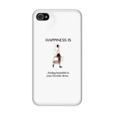 Чехол для iPhone 4/4s Ощущение счастья