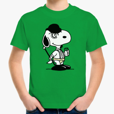 Детская футболка Snoopy Clockwork Orange