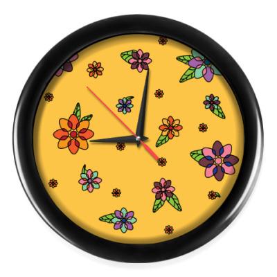 Настенные часы Время весны