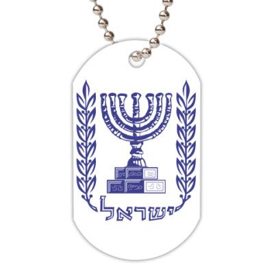 Жетон dog-tag ישראל