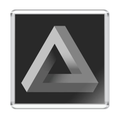 Магнит Невозможный Треугольник 3D