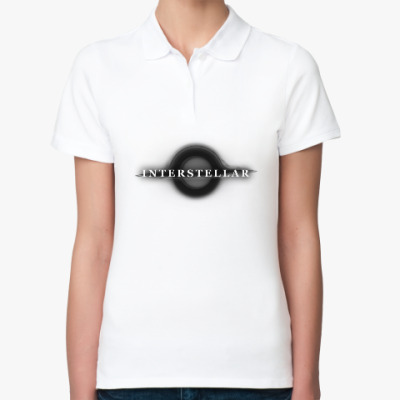 Женская рубашка поло Interstellar