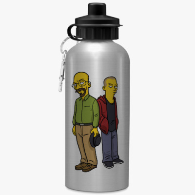 Спортивная бутылка/фляжка Breaking Bad Simpsons