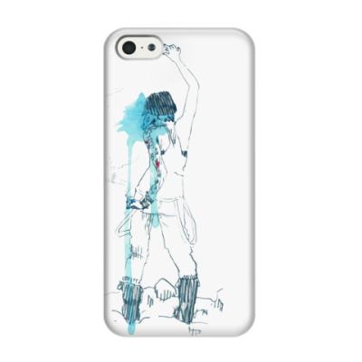 Чехол для iPhone 5/5s chloe's blueback