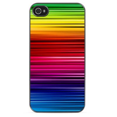"""Чехол для iPhone Чехол для Iphone """"Радуга"""""""