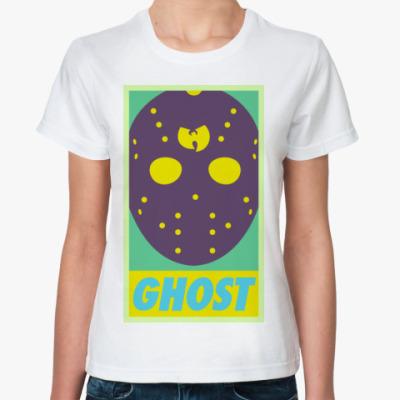 Классическая футболка  Ghost Wu tang