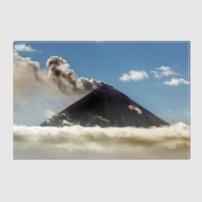 Холст Камчатка, Ключевской вулкан