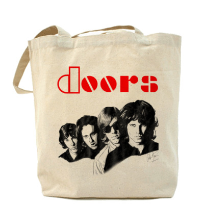 Сумка Холщовая сумка THE DOORS