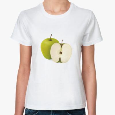 Классическая футболка  'яблочко'