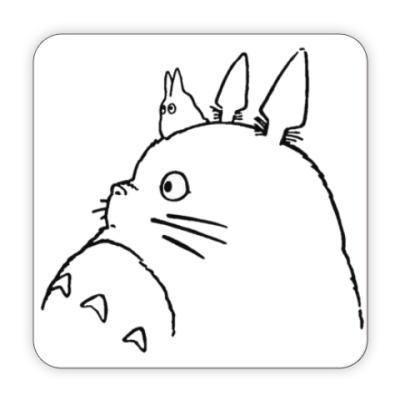 Костер (подставка под кружку) Totoro