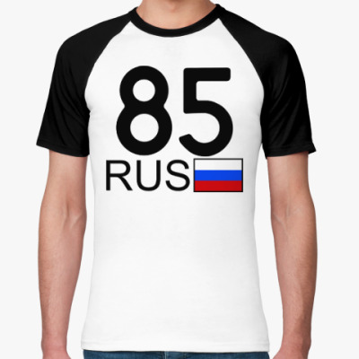 Футболка реглан 85 RUS (A777AA)