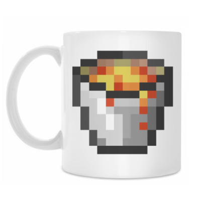Кружка Лава Minecraft