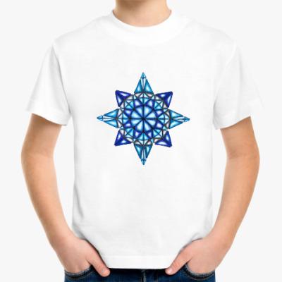 Детская футболка Калейдоскоп Январь