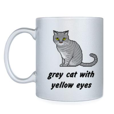 Кружка Pixel Cat