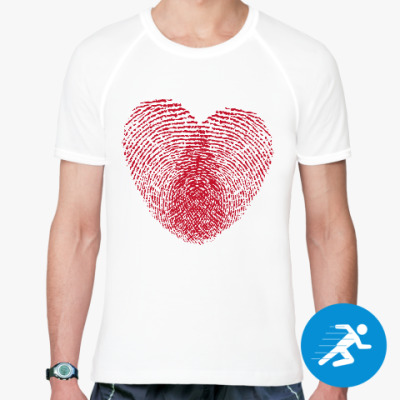 Спортивная футболка Отпечатки Любви