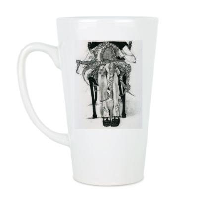 Чашка Латте Дружок-осьминог