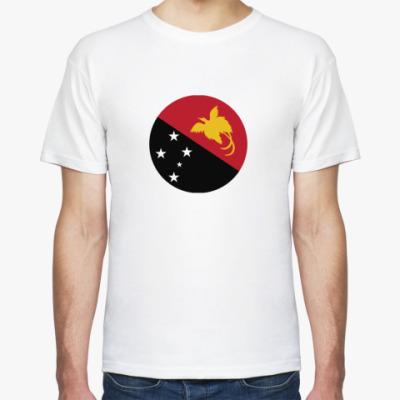 Футболка Papua New Guinea, Папуа Флаг