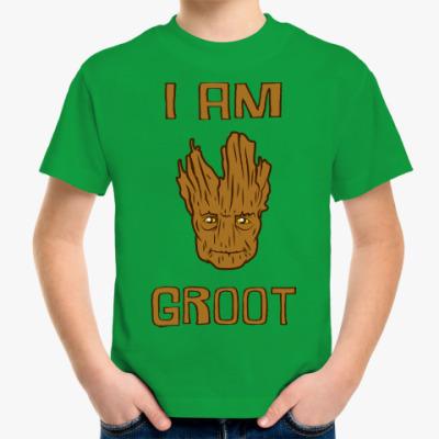 Детская футболка I am Groot