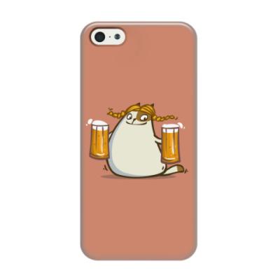 Чехол для iPhone 5/5s Пятничный Котик №22