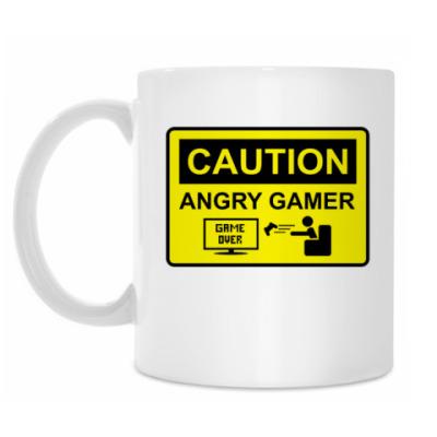 Кружка Angry Gamer