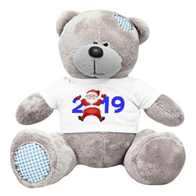 Плюшевый мишка Тедди Санта 2019