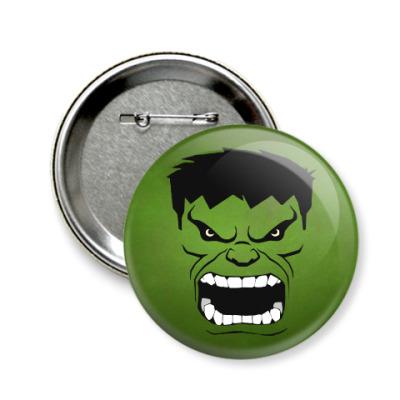 Значок 58мм Hulk