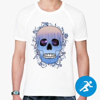 Спортивная футболка Череп
