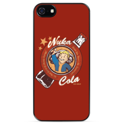 Чехол для iPhone Fallout Nuka Cola Vault Boy