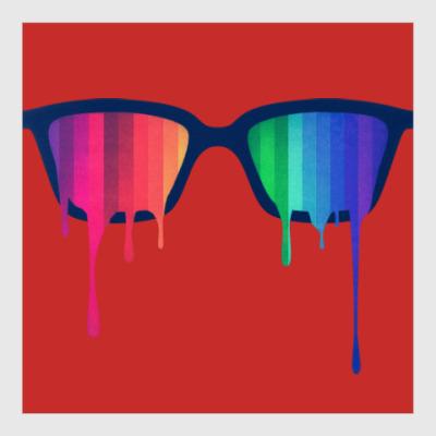 Постер Хипстер: очки