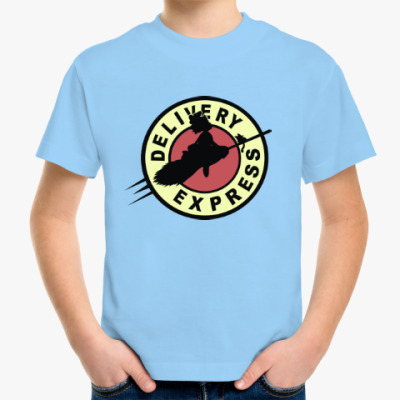 Детская футболка Ведьмина служба доставки