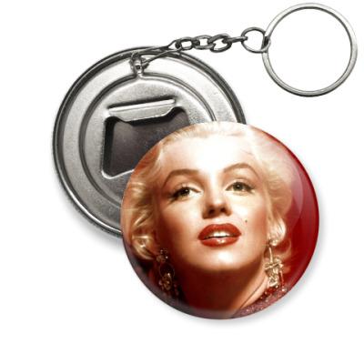 Брелок-открывашка 'Marilyn Monroe'
