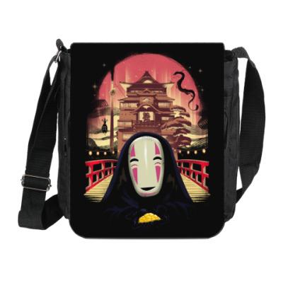 Сумка на плечо (мини-планшет) Унесенные призраками Миядзаки