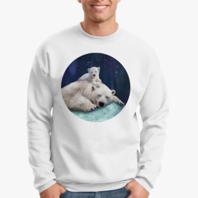Свитшот Полярные белые медведи