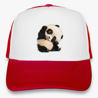Кепка-тракер 'Маленькая панда'