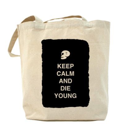 Сумка Keep calm and die young