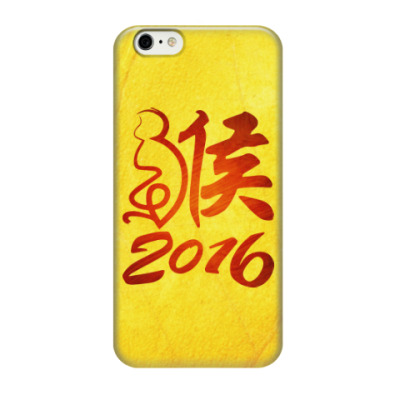 Чехол для iPhone 6/6s Год Огненной Обезьяны 2016