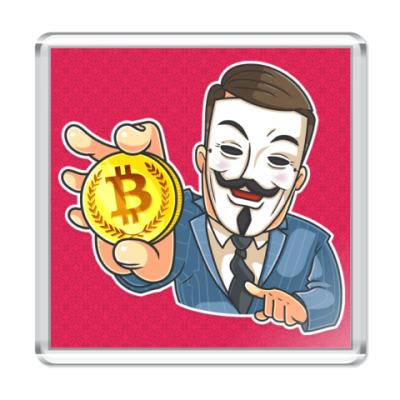 Магнит Bitcoin Anonymous