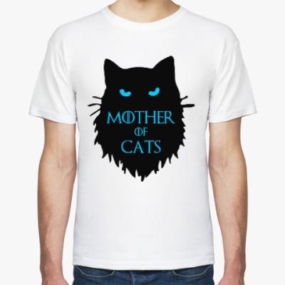 Футболка Mother of cats