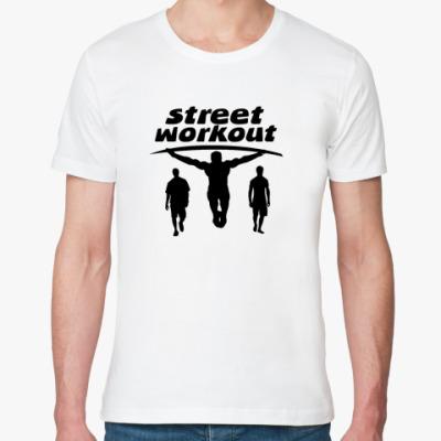 Футболка из органик-хлопка  Street Workout