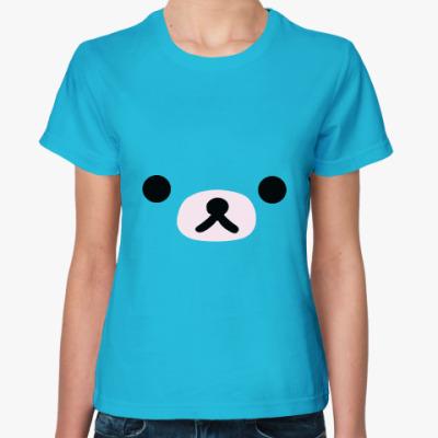 Женская футболка Моська