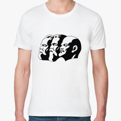 Футболка из органик-хлопка Ленин, Маркс, Энгельс