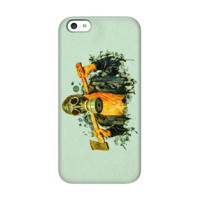 Чехол для iPhone 5c Zombie Killer
