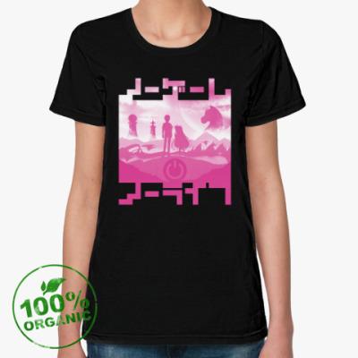 Женская футболка из органик-хлопка No Game No Life