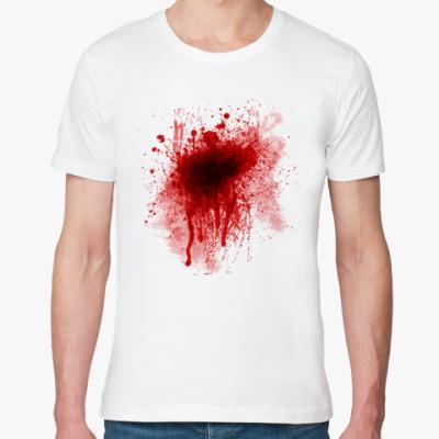 Футболка из органик-хлопка Кровь