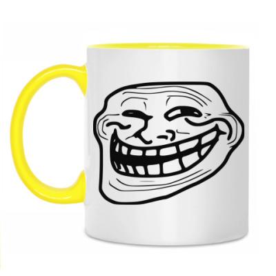 Кружка 'Troll-face'