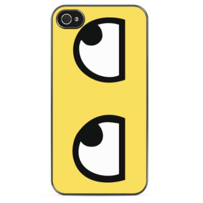 Чехол для iPhone Глаза смайла Awesome