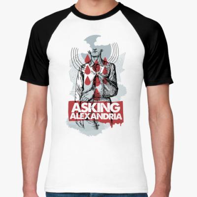 Футболка реглан asking alexandria