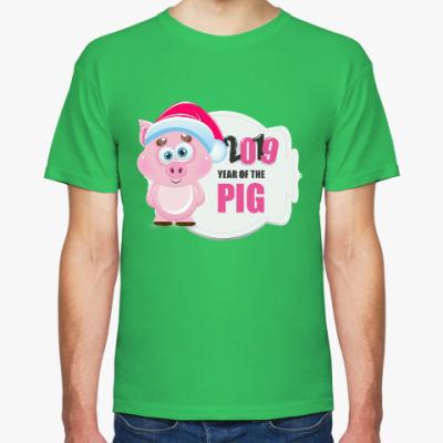 Футболка Год свиньи 2019